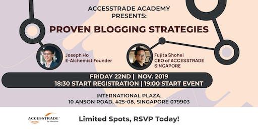 ACCESSTRADE ACADEMY: Proven Blogging Strategies (Grow Your Blog Traffic)