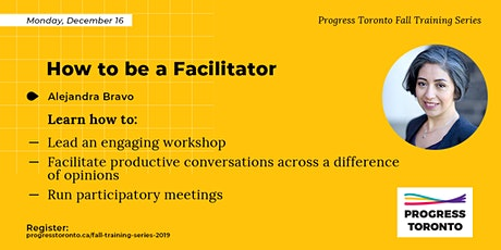 Fall Training Series: How to be a Facilitator tickets