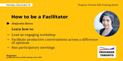 Fall Training Series: How to be a Facilitator