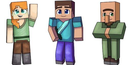 January School Holidays Minecraft Social Group for Children entering Grade 2 - Grade 5 in 2020 ($450)