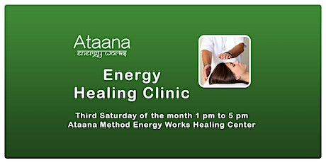 Energy Healing Clinic tickets