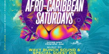 Afro-Carribean Saturdays tickets