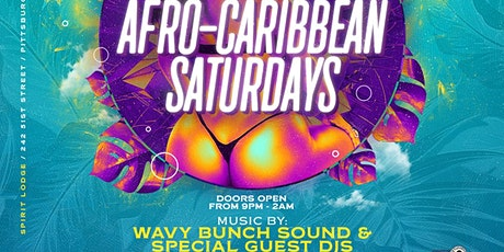 Afro-Carribean Saturdays tickets