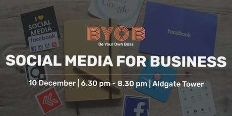 Social Media for Business Course tickets