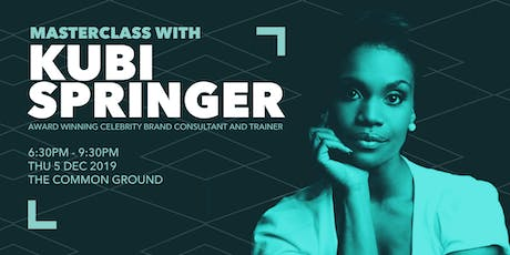 Supercharge your Brand with Master Trainer Kubi Springer tickets