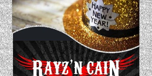 New Year's Eve Party w/the REAL Rayz'n Cain!