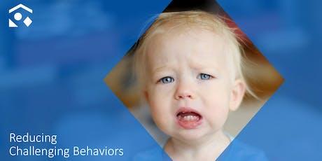 Reducing Challenging Behaviors tickets