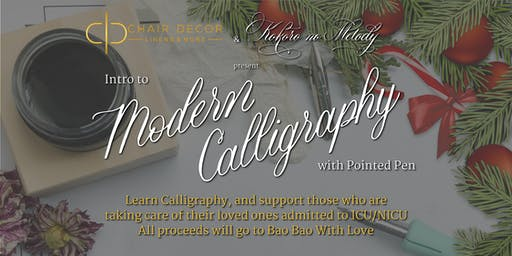 Intro to Modern Calligraphy: Giving Back and Sharing Love