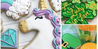 Cookie Decorating: St. Patricks Day Rainbow Sugar Cookies at Fran's Cake and Candy Supplies