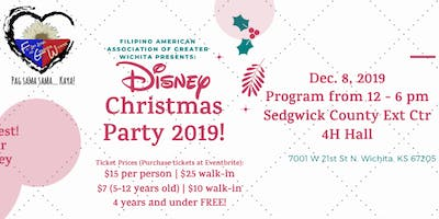 Filipino-American Association of Greater Wichita Annual Christmas Party