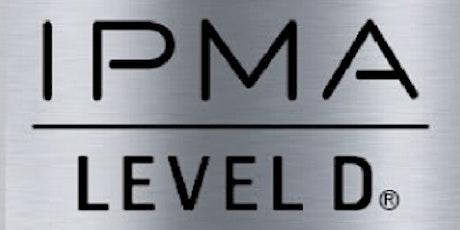 IPMA - D 3 Days Training in San Jose, CA tickets
