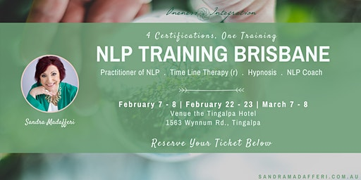 NLP Training Brisbane:  4 Certifications - One Training