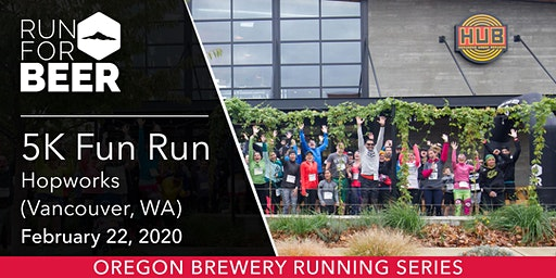 Hopworks Urban Brewery (Vancouver, WA) 5k Fun Run!