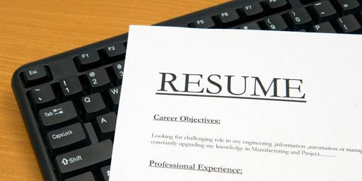 Career Confidence - Resume Workshop & Cover letter writing - Mirrabooka Library