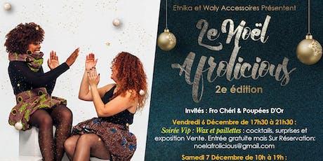 Noël Afrolicious billets