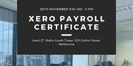 Become a XERO Payroll Officer in ONE day! tickets