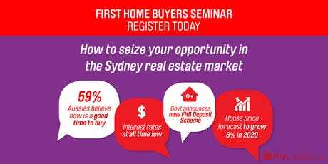Free Seminar: How to seize your opportunity in Sydney real estate market tickets
