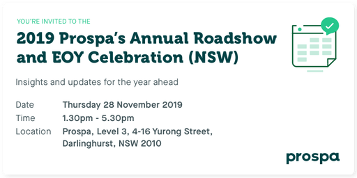 2019 Prospa's Annual Roadshow and EOY Celebration (NSW)