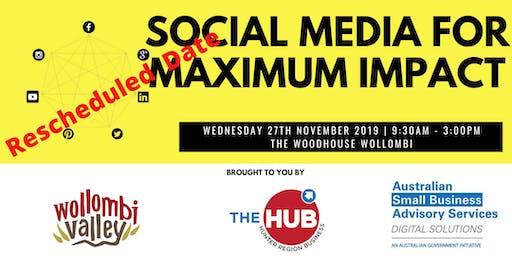 Social Media For Maximum Impact
