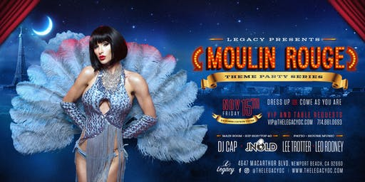 Moulin Rouge | Legacy Nightclub Themed Party Series