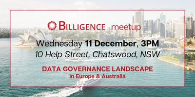 Data Governance Landscape in Europe & Australia Meetup