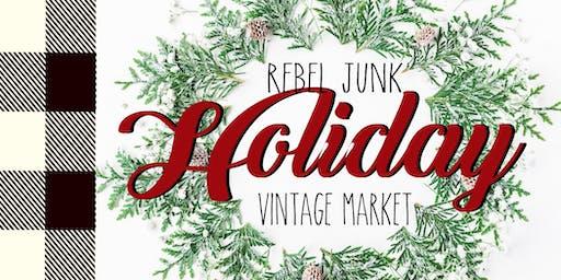 Rebel Junk Holiday Market- St. Helens, Oregon