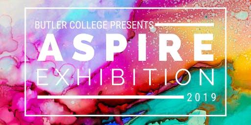 Butler College Aspire Exhibition - Opening Night 2019