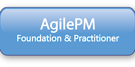 Agile Project Management Foundation & Practitioner (AgilePM®) 5 Days Virtual Live Training in Hamilton tickets