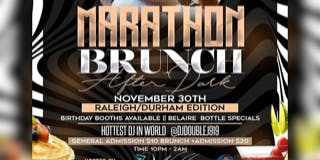 Marathon Brunch After Dark