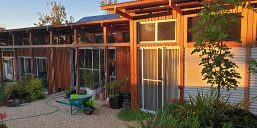 Sustainable house and gardens and lunch - Moruya, NSW