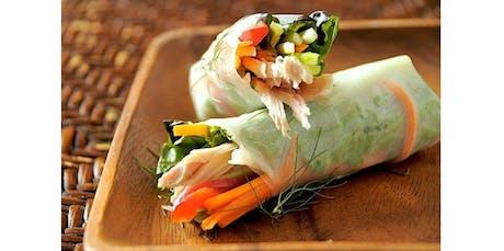 Salad Roll Workshop (02-03-2020 starts at 5:30 PM) tickets