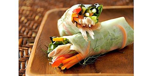 Salad Roll Workshop (04-07-2020 starts at 5:30 PM)