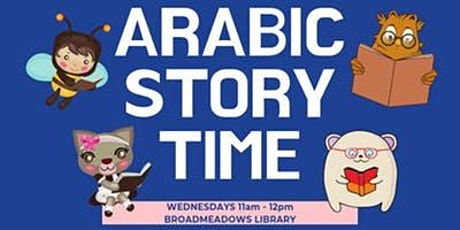 Arabic Bilingual Storytime, Ages 0-5, FREE tickets