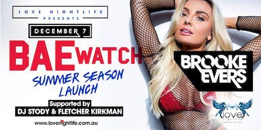 Brooke Evers Summer Season Launch at LOVE Nightlife