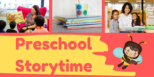 Preschool Storytime, Ages 3-5, FREE