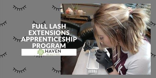 Full Lash Extensions Apprenticeship Progam