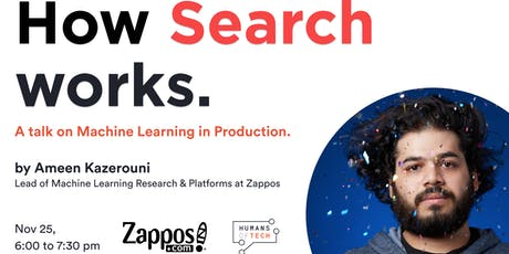 How Search Works, a talk on Machine Learning in Production tickets