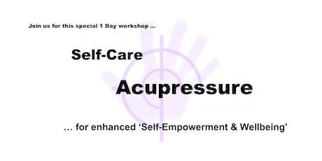 Self-Care Acupressure Workshop tickets