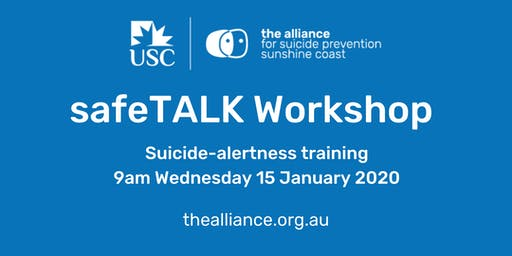 safeTALK suicide-alertness workshop