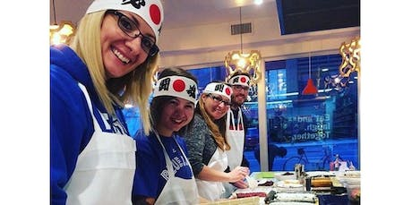 SUSHI CLASS  (06-27-2020 starts at 6:00 PM) tickets