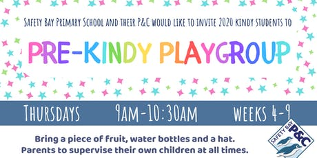Pre-Kindy Playgroup tickets