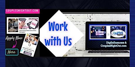 Nationwide Hiring Event B2B Digital Advertising Sales & Affiliate Partners tickets