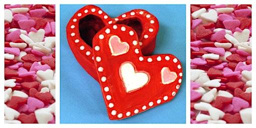 Parent & Child Create Night- Valentine's Day Craft (5-12 Years) - NEW DATE 2/22