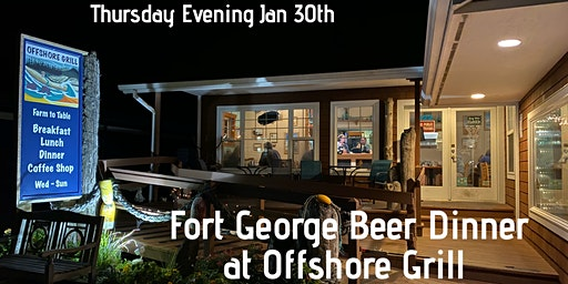 Fort George Beer Dinner at Offshore Grill