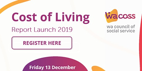 2019 Cost of Living Report Launch tickets