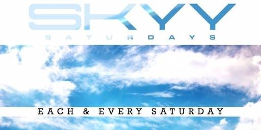 #SKYYSATURDAYS