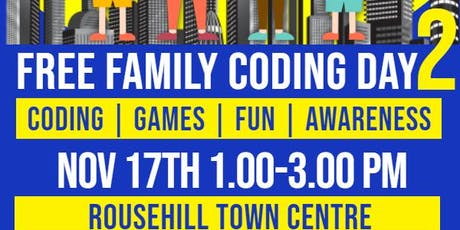 FREE Family Coding Event 2 tickets