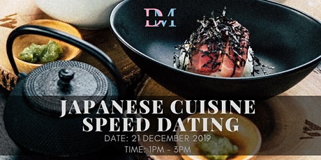 Japanese Cuisine Speed Dating tickets