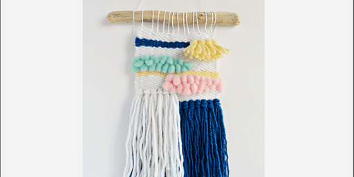 Mini Woven Wall Hangings - School Holiday Program