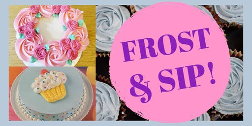 Frost & Sip & Pizza Party!